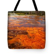 Colors And Layers Tote Bag