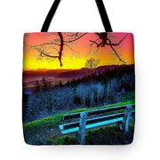 Colors And Light  Tote Bag