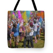 Colors Go Up Tote Bag
