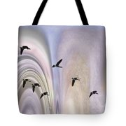 Colors In A Borealis Flyway Tote Bag