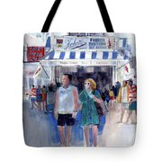 Colors Of A Summer - Jersey Shore Tote Bag