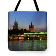 Colors Of Cologne Tote Bag