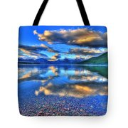 Colors Of Clouds Tote Bag by Scott Mahon