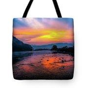 Colors Of Dawn Tote Bag