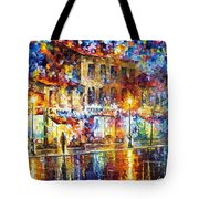 Colors Of Emotions - Palette Knife Oil Painting On Canvas By Leonid Afremov Tote Bag