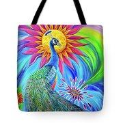 Colors Of His Splendor Tote Bag by Nancy Cupp