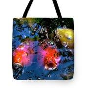 Colors Of Koi Tote Bag