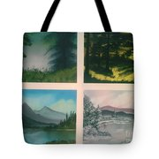 Colors Of Landscape 2 Tote Bag