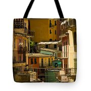 Colors Of Manarola Italy Tote Bag