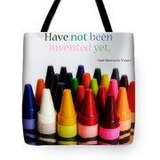 Colors Of Me Tote Bag by Julia Wilcox