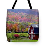 Colors Of New England Tote Bag