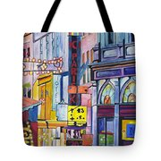 Colors Of Paris Tote Bag