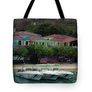 Colors Of St. John Us Virgin Islands Tote Bag