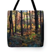 Colors Of The Forest Tote Bag