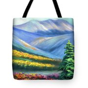 Colors Of The Mountains 2 Tote Bag