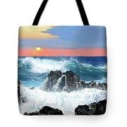 Colors Of The Ocean Tote Bag