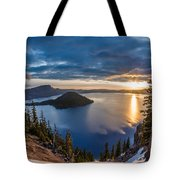 Colors Of The Spring Morning At Discovery Point Tote Bag