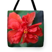 Colors Of The Tropics Hibiscus Tote Bag