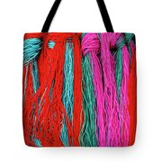 Colors Of Tibet Tote Bag