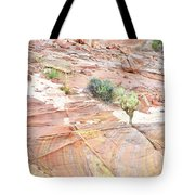 Colors Of Wash 3 In Valley Of Fire Tote Bag