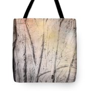 Colors Of Winter Tote Bag