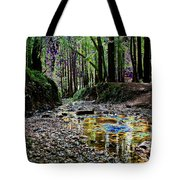 Colors On The Creek Tote Bag