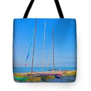 Colors On The Shore Tote Bag