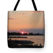 Colors On The Water Tote Bag
