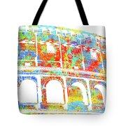 Colosseum - Colorsplash Tote Bag