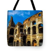 Colosseum In Rome Italy Tote Bag