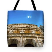 Colosseum Perspective Tote Bag