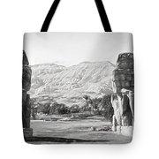 Colossi Of Memnon 2 Tote Bag