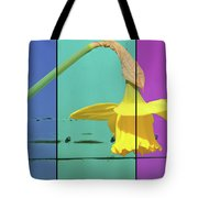 Colour Blocking Spring Tote Bag