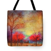 Colour Burst Tote Bag