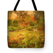 Colour Explosion In The Japanese Gardens Tote Bag