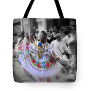 Colour In Motion..... Tote Bag