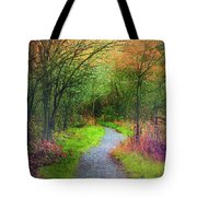 Colour Mysteries Tote Bag