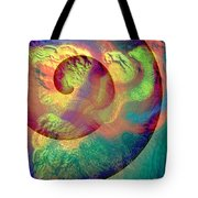 Colour Spiral Tote Bag