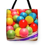Colourful Bubblegum Candy Balls Tote Bag