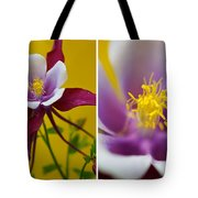 Colourful Colombine Tote Bag