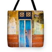 Colourful Door Tote Bag