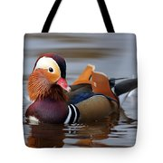 Colourful Duck Tote Bag