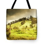 Colourful Fields And Farmyards Tote Bag