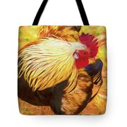 Colourful Hen Tote Bag