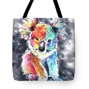 Colourful Koala Tote Bag