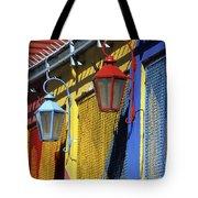 Colourful Lamps La Boca Buenos Aires Tote Bag