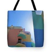 Colourful Marina Buildings Albufiera Portugal Tote Bag