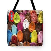 Colourful Morroccan Slipper Tote Bag