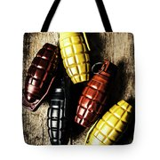 Colourful Munitions  Tote Bag