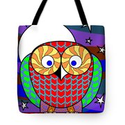 Colourful Owl Tote Bag